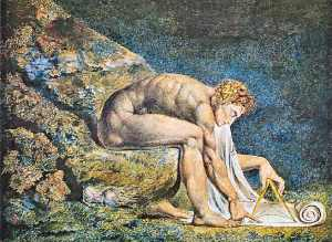 Newton, by William Blake